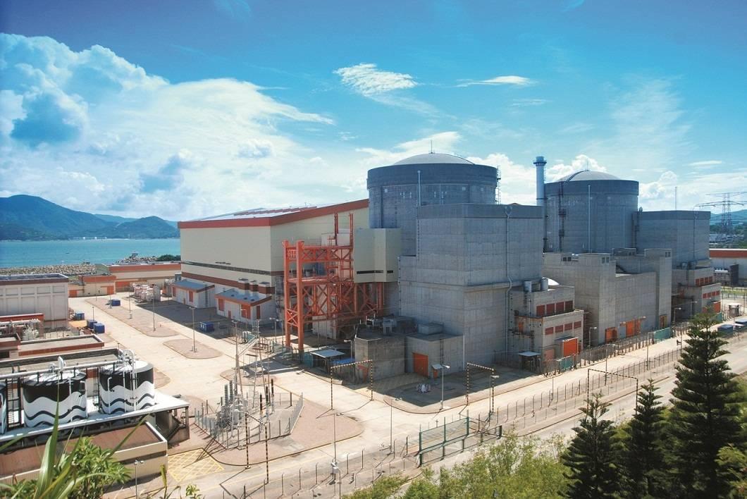 大亚湾核电站图